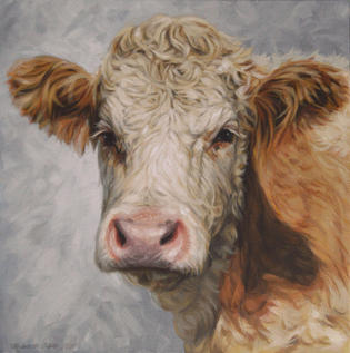 Ginger and White - SOLD