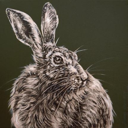 Hare Study Deep Green - £480