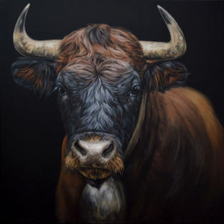 The Matriarch Herens Cow - SOLD