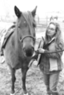 Kari and her Horse