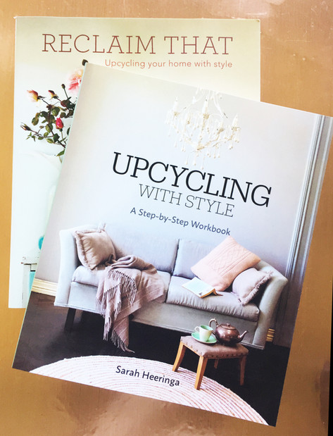 Upcycling books ...
