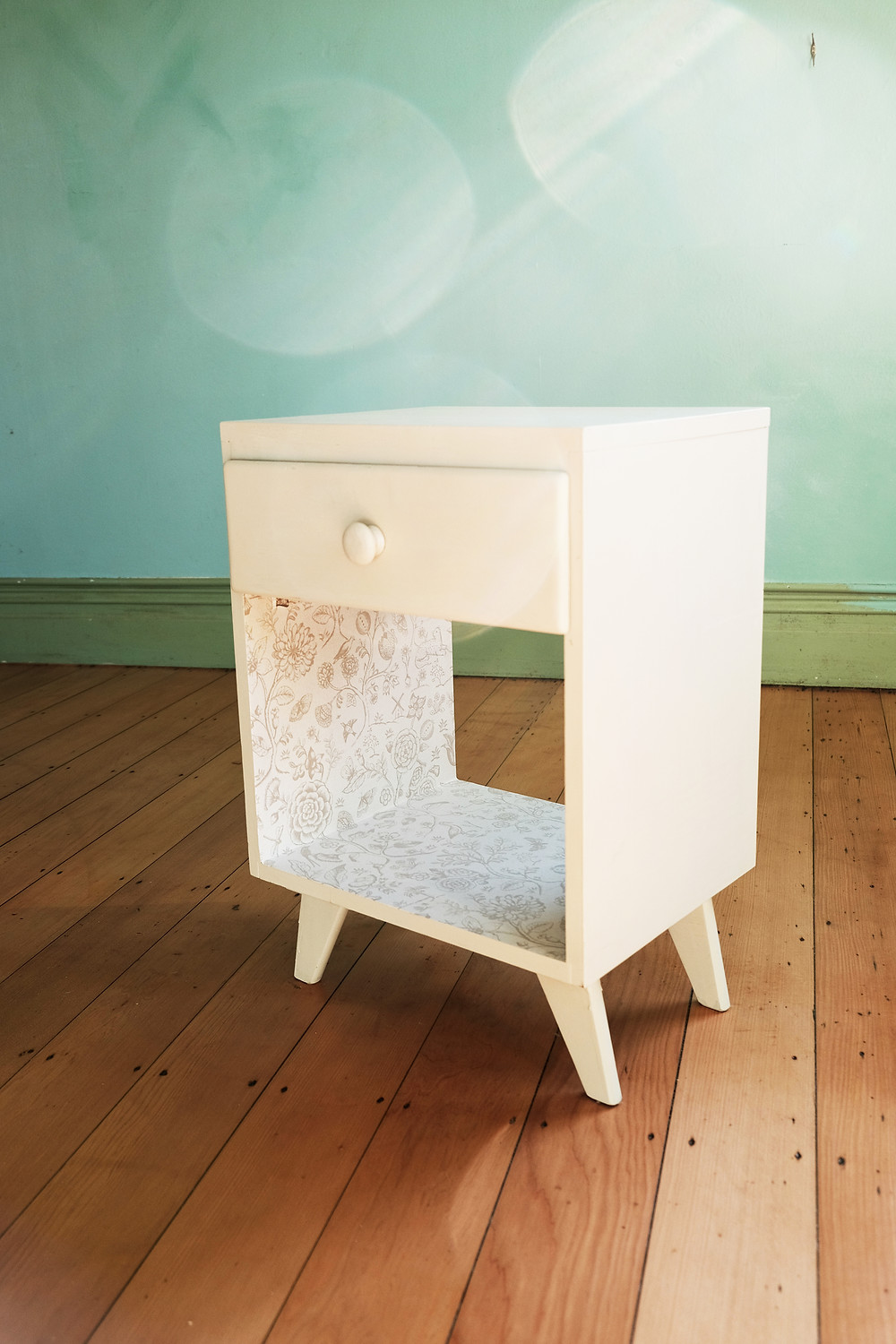 Upcycled cabinet, from Upcycling with Style