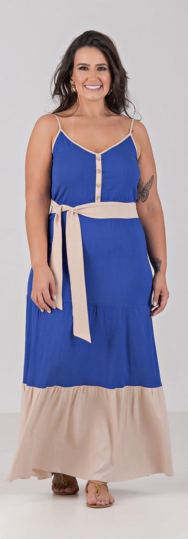 04058-000-047 Vestido Tres Marias Em Vis