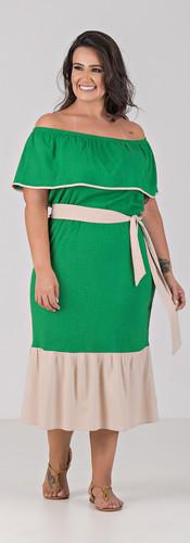 04066-000-053 Vestido Midi Viscolinho Co