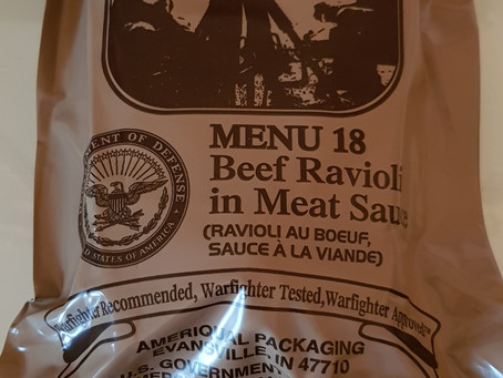 [FOTO-REVIEW] ORIGINAL US MRE MENU 18