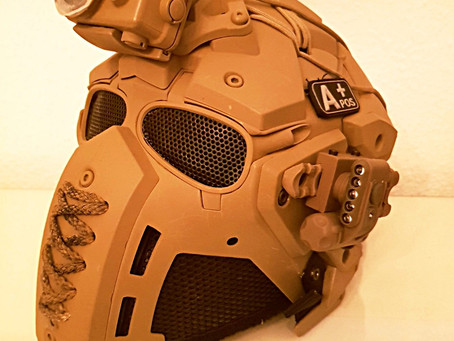 [FOTO-REVIEW] Tactical Helmet by DutchOne
