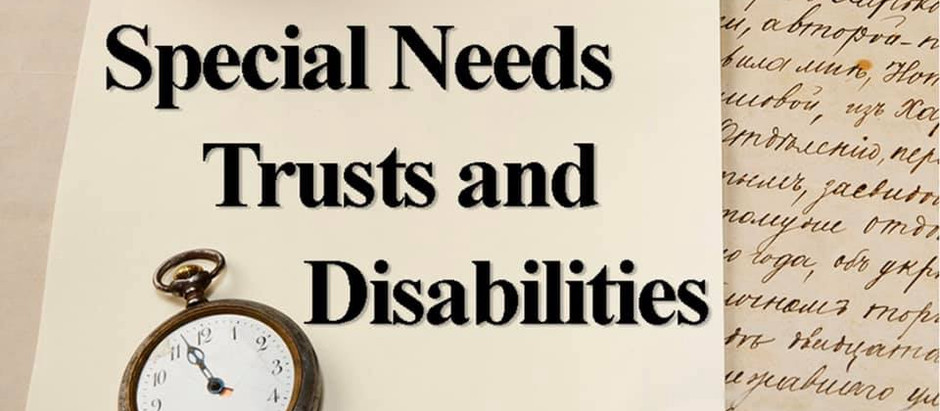 The Importance of Special Needs Planning