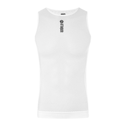 ATTAQUER - Core Sleeveless Summer Weight Base Layer in White