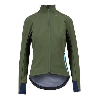 VELOCIO - Signature Women's Softshell Jacket in Dark Olive