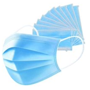 5 pack 3 ply Disposable face mask