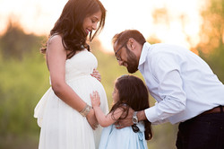 frisco family maternity photos