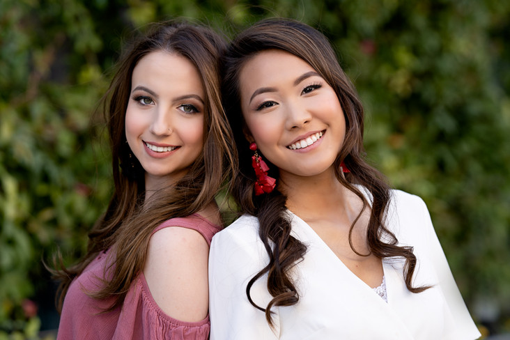 DUO Senior Sessions | Getting Senior Portraits with Your BFF | Frisco Senior Photographer