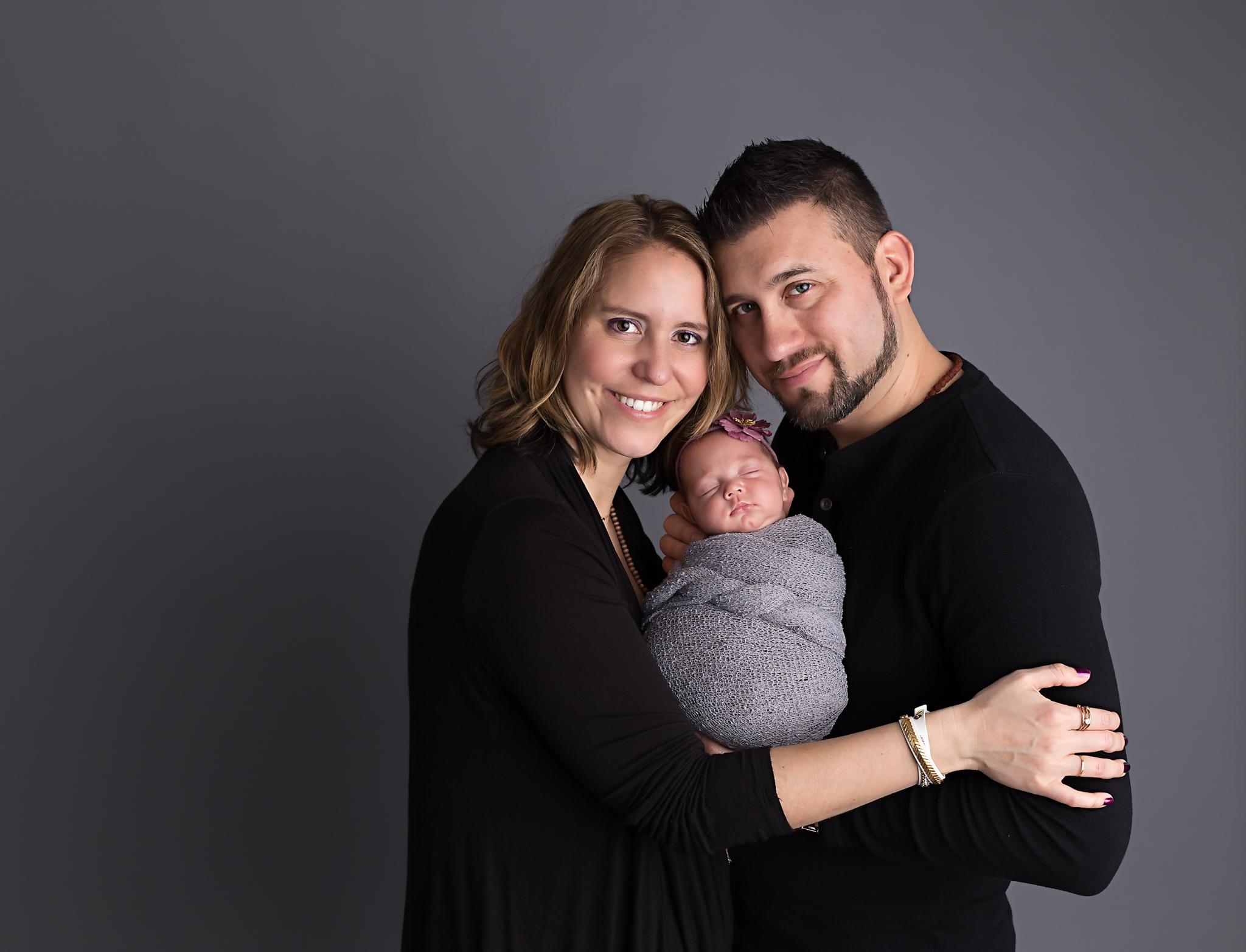 Family and Newborn photo