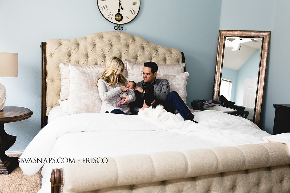 frisco lifestyle photography bedroom