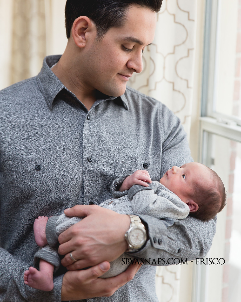 father and baby boy frisco photographer