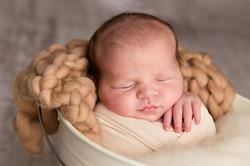 boy newborn photo