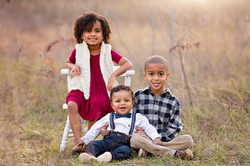 kids portraits at Frisco commons