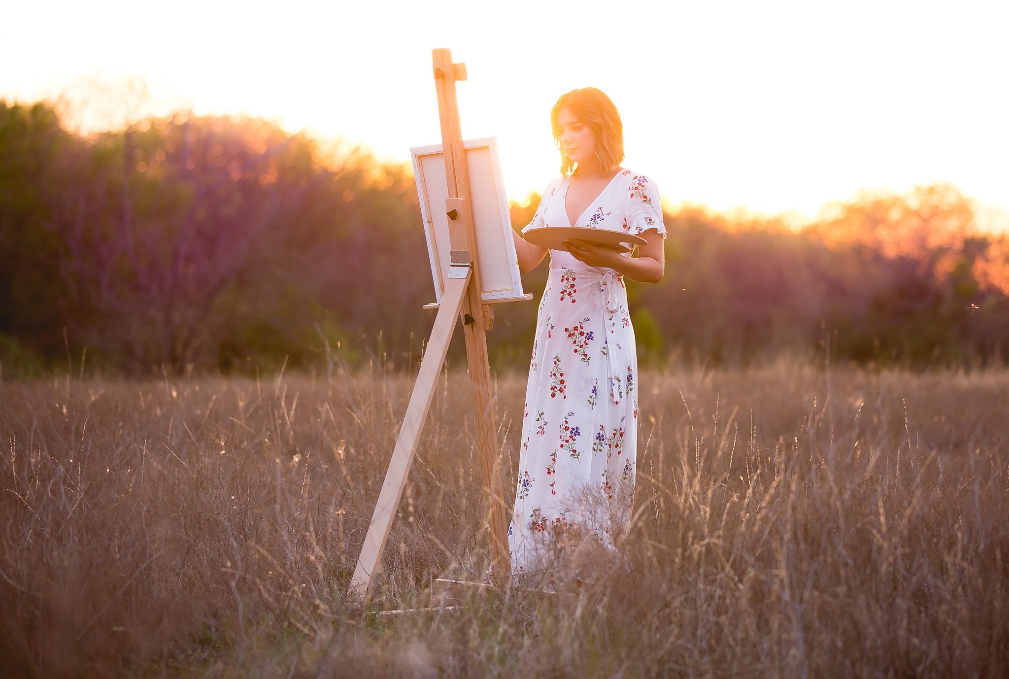 Sunset Senior Photo