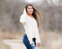senior girl frisco
