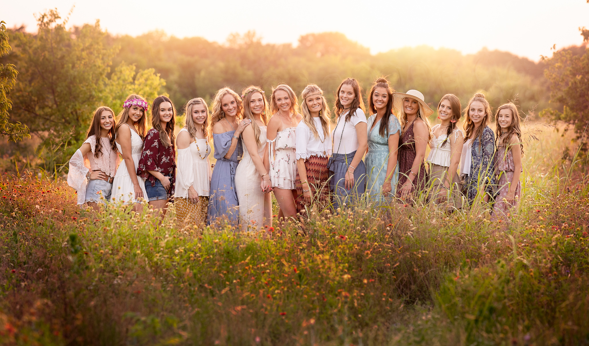 Bohemian Group Photo Shoot Seniors