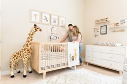 frisco lifestyle photographer nursery
