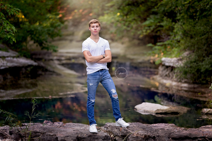 Ryan's Senior Photos | Frisco Senior Photographer | SBVA Snaps Photography