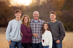 family pictures at Frisco Commons