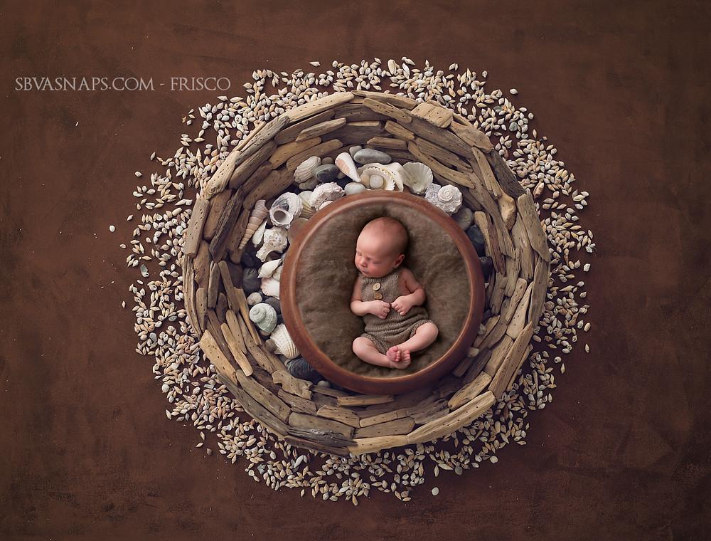 newborn baby digital backdrop | Frisco newborn photographer