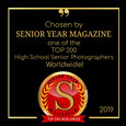 Top 200 Badge - Senior Year Magazine