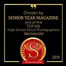 Top 200 Badge - Senior Year Magazine