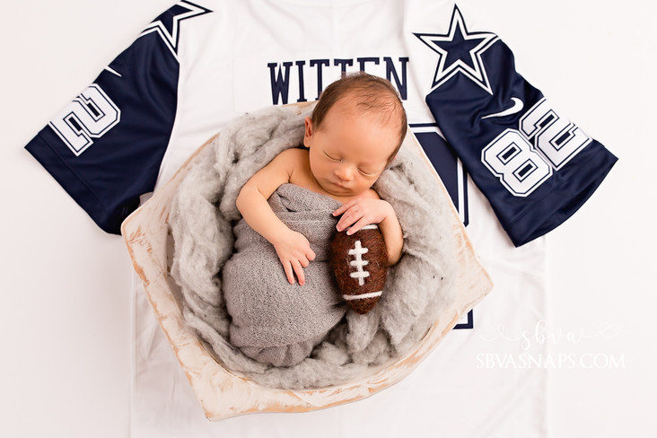 A Cowboy, an Aggie, and a Mousekateer! | Frisco Newborn Photographer