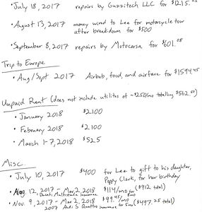 Image of small claims list of loans.JPG