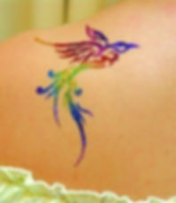 tatouage paillete
