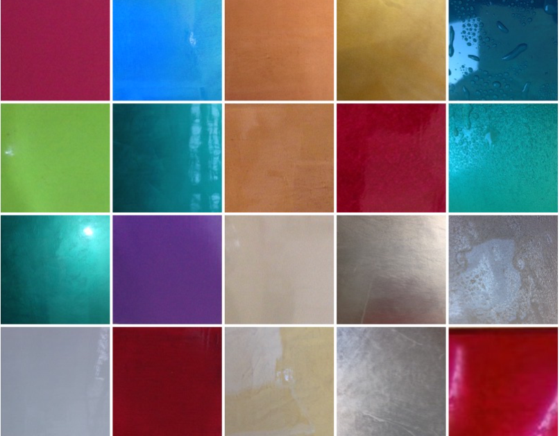 polished plaster colour colours chart sample board