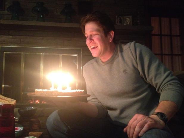Birthday Lemon Pie for John!