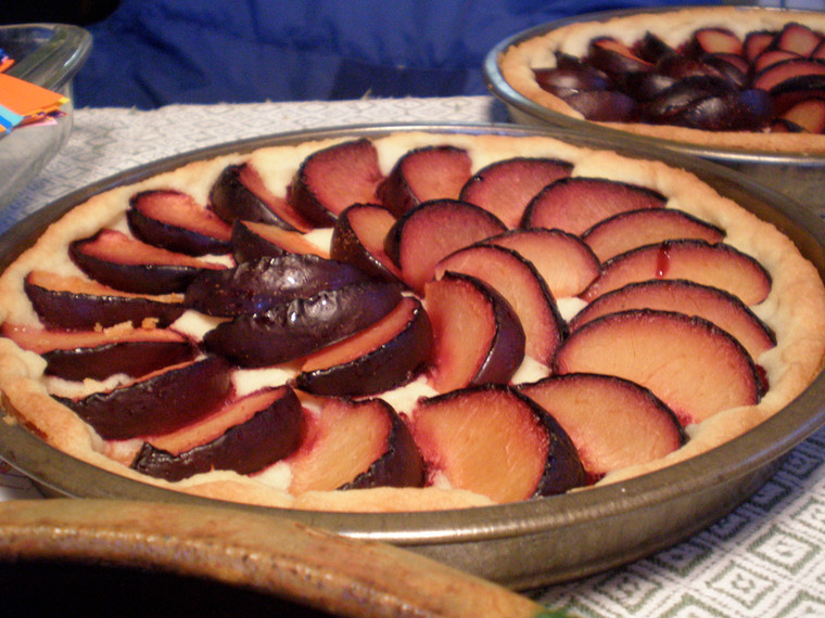 Plum Kuchen Baked with Mary Kelsey