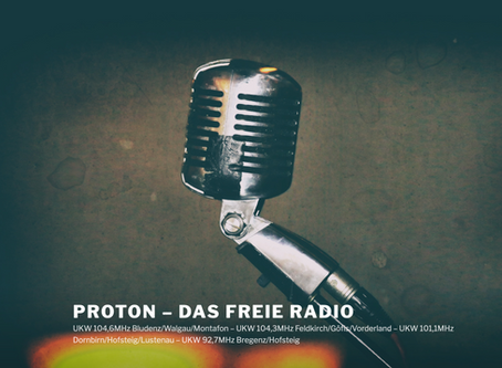 Radio Interview: 1001 Stories - Radio Proton
