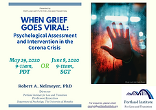 When Grief Goes Viral - Publicity Poster