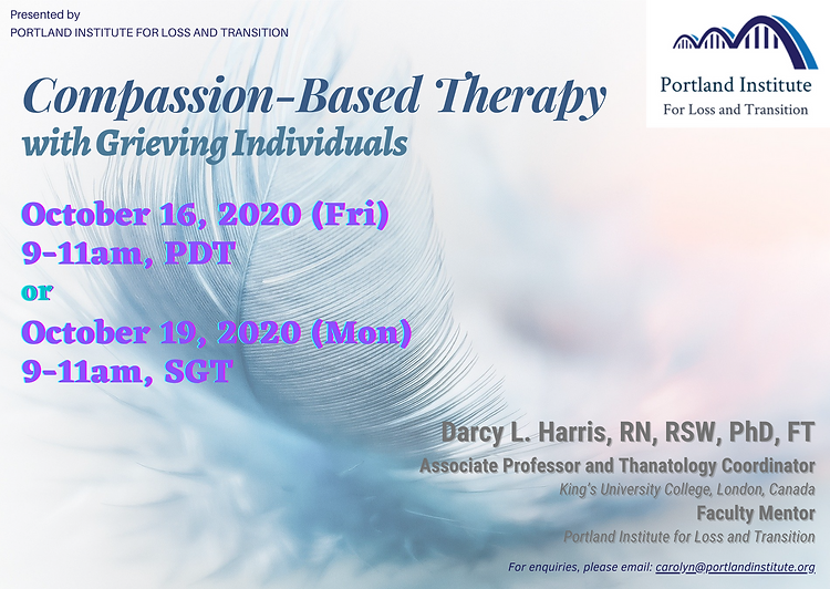Compassion-Based Therapy - Publicity Pos