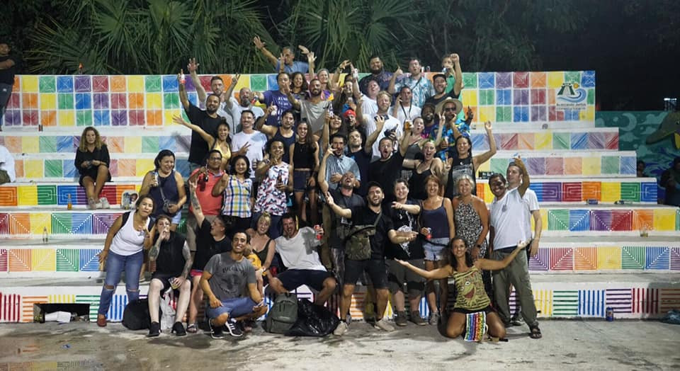Artists of the 1st Annual Akumal Arts Festival & Residency!