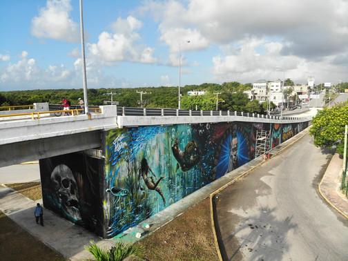Akumal Overpass Bridge