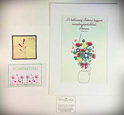 Virágszirom kézműves termékek