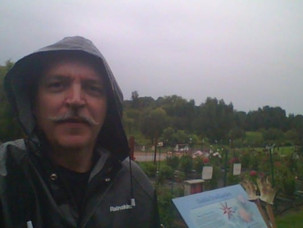 Rainy Day at the Trial Garden