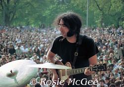 Jerry Garcia, Central Park, 5/5/68