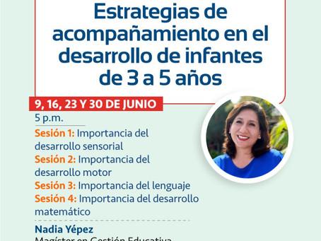 Estrategias de acompañamiento en el desarrollo de infantes de 3 a 5 años