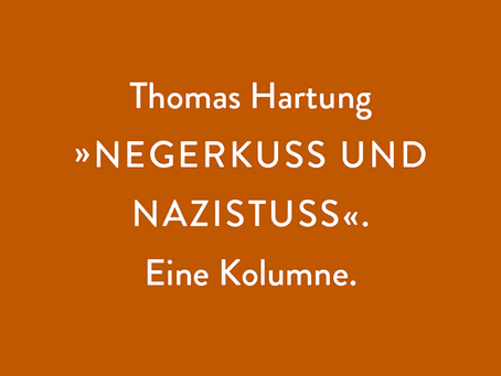 "Thomas Hartung: ""INNERSTAATLICHER TERRORISMUS"""