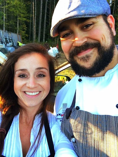 Chef Alex and his wife Megan
