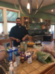 Catering and private cooking classes