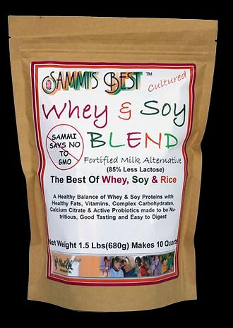 Sammi's Best Whey & Soy Milk Blend 1.5lb Bag