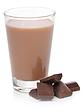 Soy Dutch Chocolate in Glass